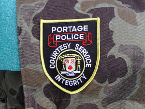 Portage Police Patch